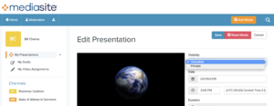 Make Presentation Viewable